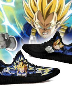Power Skill Vegeta Yeezy Shoes Dragon Ball Z Anime Sneakers Fan Gift MN04 - 2 - GearAnime