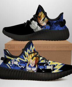 Power Skill Vegeta Yeezy Shoes Dragon Ball Z Anime Sneakers Fan Gift MN04 - 1 - GearAnime