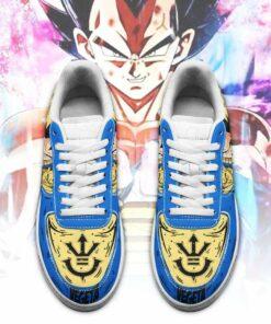 Vegeta Blue Sneakers Custom Dragon Ball Anime Shoes Fan Gift PT05 - 2 - GearAnime