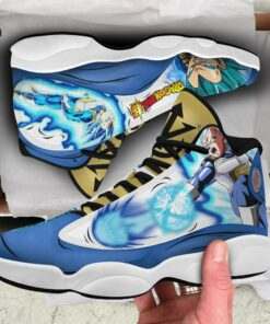 Vegeta Blue Sneakers Dragon Ball Super Anime Custom Shoes - 2 - GearAnime