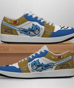 Vegeta Blue Low Sneakers Dragon Ball Supers Anime Shoes Fan Gift Idea MN07 - 1 - GearAnime