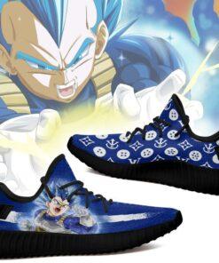 Vegeta Blue Yeezy Shoes Fashion Dragon Ball Shoes Fan MN03 - 2 - GearAnime