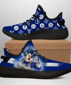 Vegeta Blue Yeezy Shoes Fashion Dragon Ball Shoes Fan MN03 - 1 - GearAnime