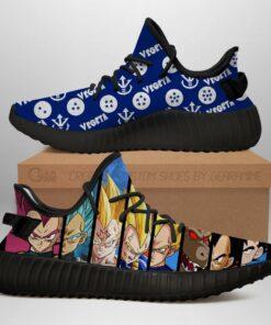 Vegeta Evolution Yeezy Shoes Dragon Ball Anime Sneakers Fan MN03 - 1 - GearAnime