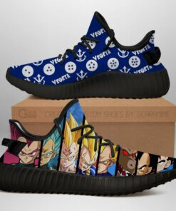 Vegeta Evolution Shoes Dragon Ball Anime Sneakers Fan MN03 - 1 - GearAnime