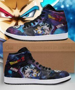 Vegeta Sneakers Galaxy Dragon Ball Z Anime Shoes Fan PT04 - 1 - GearAnime