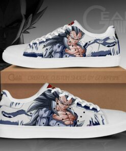 Vegeta Mixed Ape Skate Shoes Dragon Ball Anime Custom Shoes PN09 - 1 - GearAnime