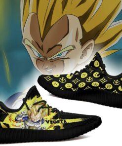Vegeta Super Saiyan Yeezy Shoes Dragon Ball Shoes Fan MN03 - 2 - GearAnime