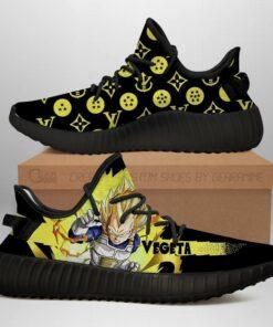 Vegeta Super Saiyan Yeezy Shoes Dragon Ball Shoes Fan MN03 - 1 - GearAnime
